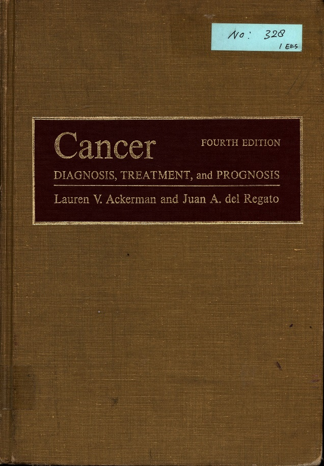 Cancer Diagnosis, Treatment, and Prognosis