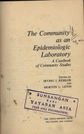 The Community as an Epidemiologic Laboratory