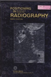 Image of Positioning In Radiography Volume One Edition Ninth